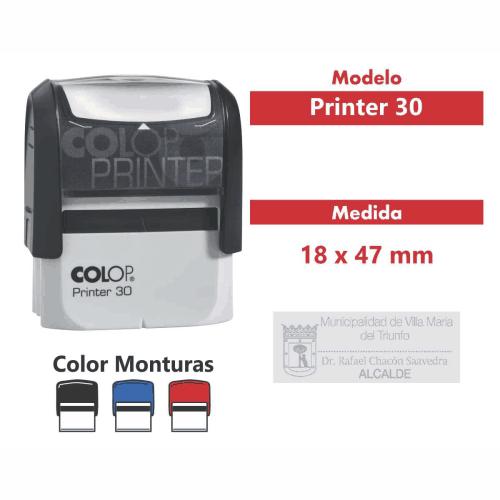 sello automático printer 30