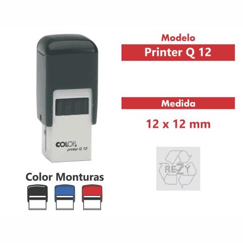 sello automático printer q 12