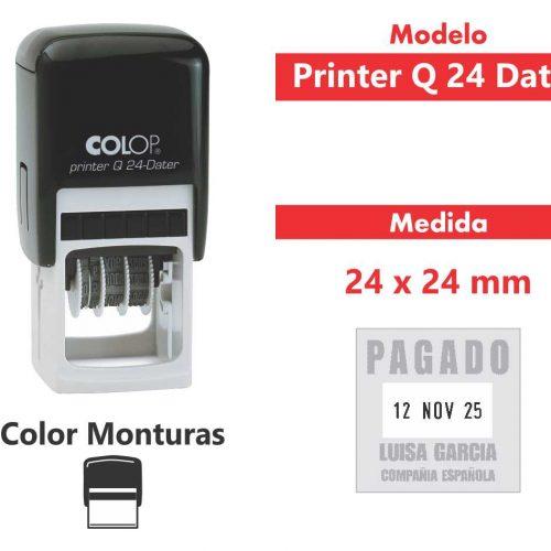 sello-automático-printer-q-24-dater