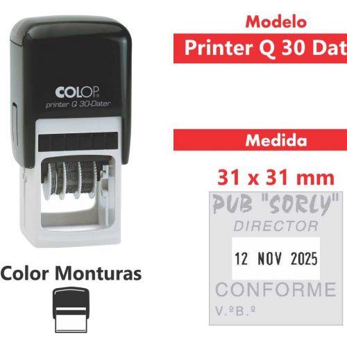sello-automático-printer-q-30-dater