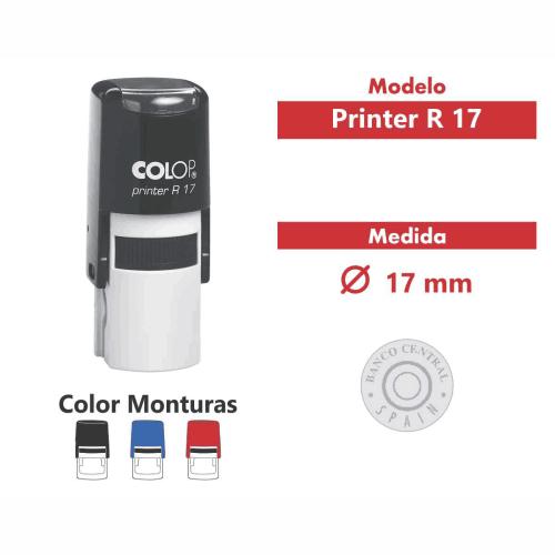 sello automático printer r 17