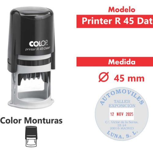 sello-automático-printer-r-45-dater