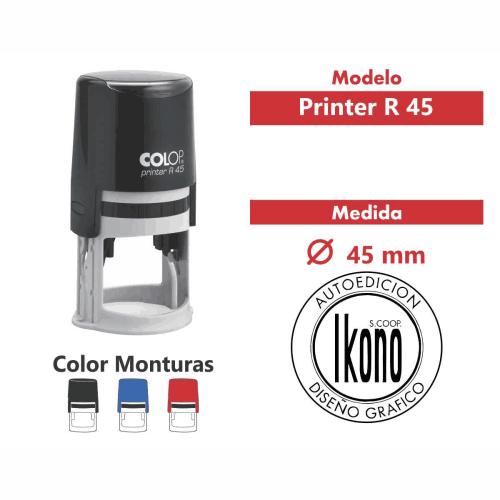 sello automático printer r 45