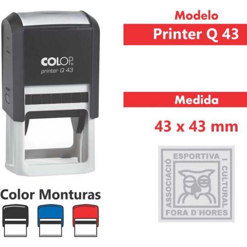 sellos-automatico-printer-q-43